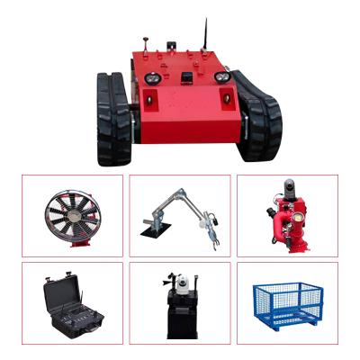 Remote Controlled Fire Fighting Mobile Robot L1
